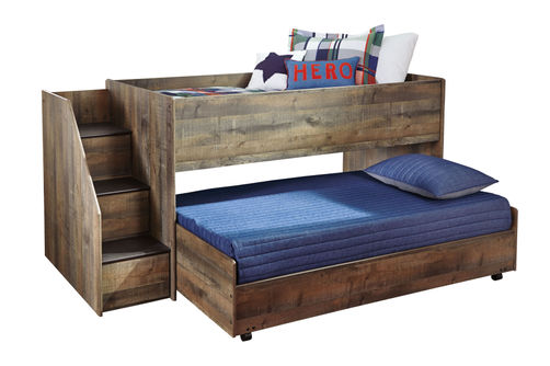 Signature Design by Ashley Trinell Twin Trundle Bed