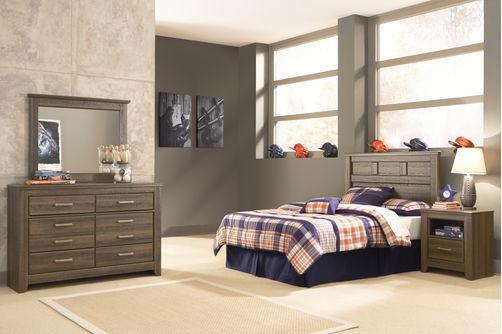 Signature Design by Ashley Juararo 4-Piece Full Bedroom Set- Room View
