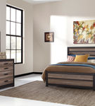 Signature Design by Ashley Harlinton 6-Piece Queen Bedroom Set- Room View