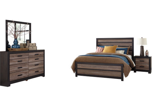 Signature Design by Ashley Harlinton 6-Piece Queen Bedroom Set