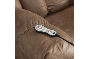 Signature Design by Ashley Adrano-Bark Rocker Recliner- Remote
