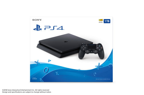 Sony Playstation 4 Slim 1TB Video Game Controller