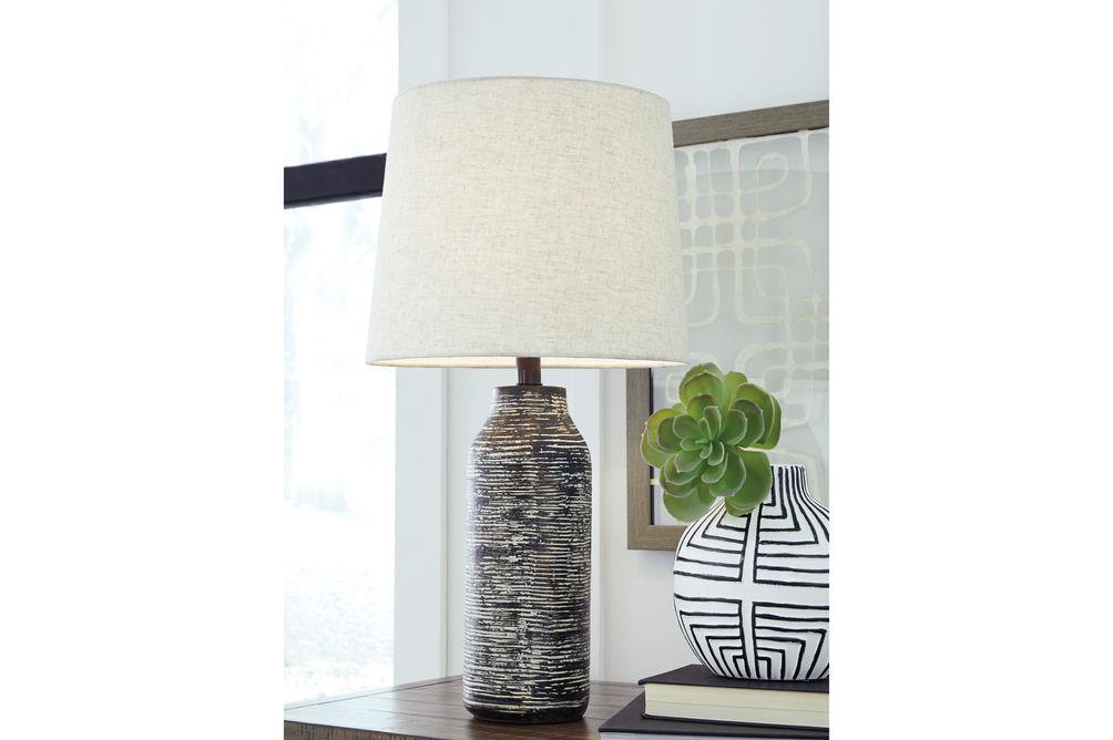 Signature Design by Ashley Mahima Lamp Set