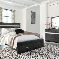 Signature Design by Ashley Starberry 6-Piece Queen Bedroom Set- Room View