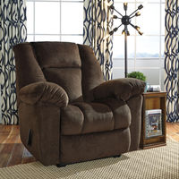 Signature Design by Ashley Nimmons-Chocolate Oversized Power Recliner- Room View