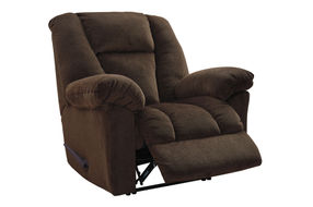 Signature Design by Ashley Nimmons-Chocolate Oversized Power Recliner- Reclining