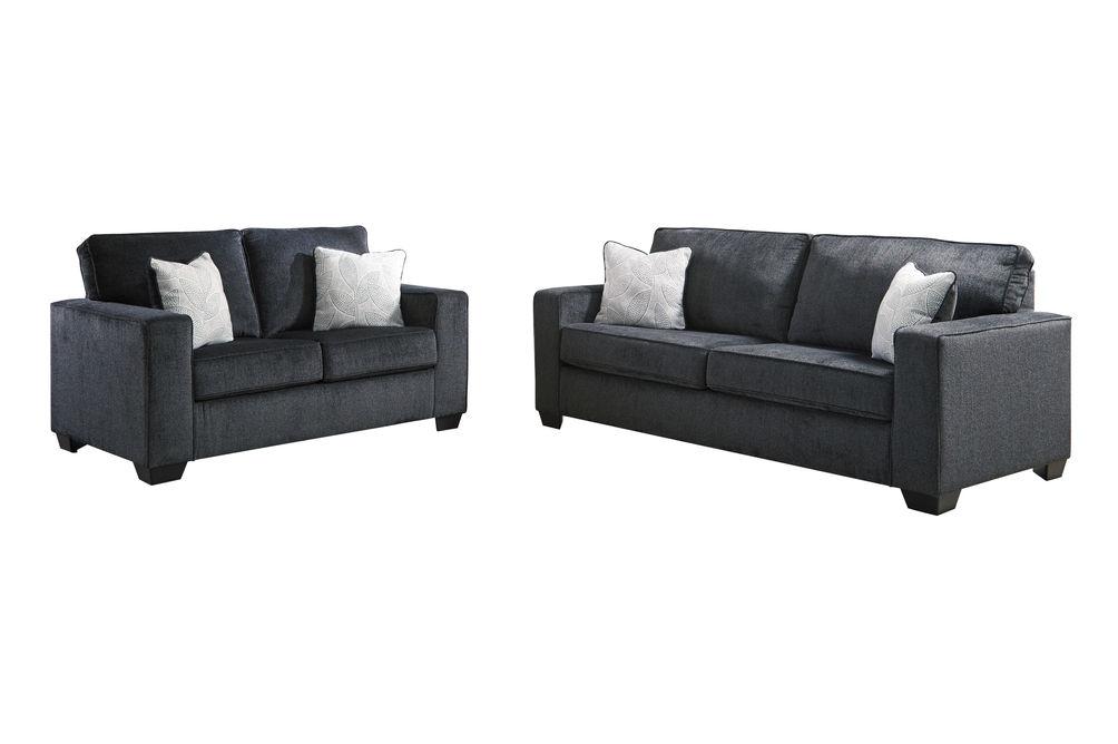 Signature Design by Ashley Altari-Slate Sofa and Loveseat