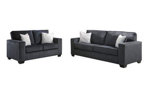 Signature Design by Ashley Altari-Slate Sofa and Loveseat