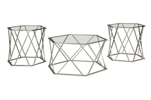 Signature Design by Ashely Madanere Coffee and End Table Set