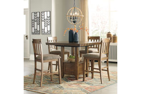 Benchcraft Flaybern 5-Piece Dining Set- Room View