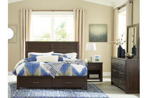 Rent To Own Signature Design By Ashley Darbry 6 Piece King Bedroom Set