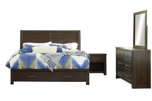 Signature Design by Ashley Darbry 6-Piece King Bedroom Set