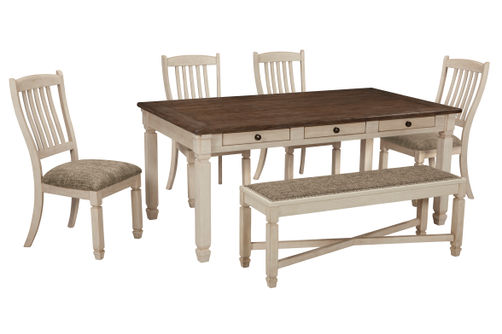 Signature Design by Ashley Bolanburg 6-Piece Dining Set