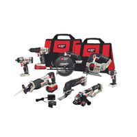 Porter-Cable 8-Piece 20V Max Cordless Tool Kit Combo