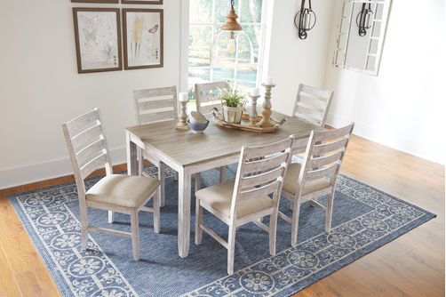 Signature Design by Ashley Skempton 7-Piece Dining Set- Alternate View