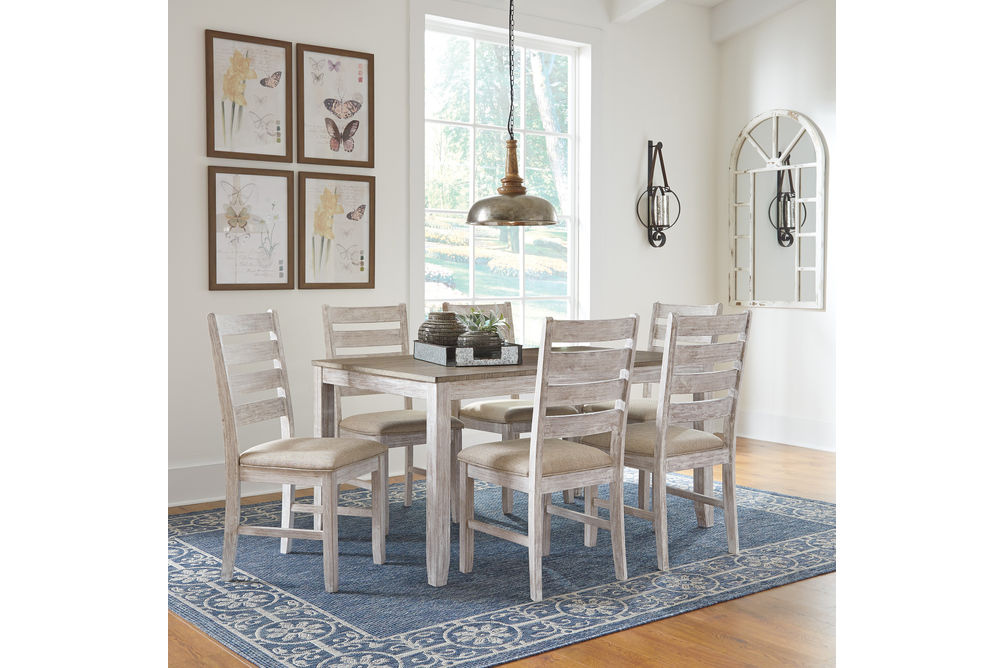 Signature Design by Ashley Skempton 7-Piece Dining Set- Room View