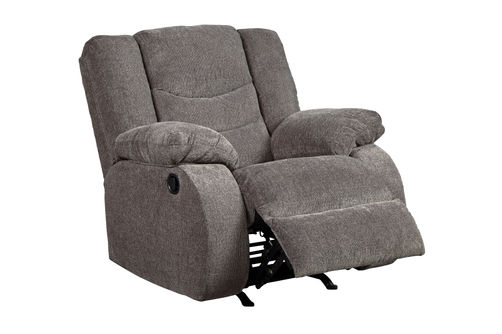 Signature Design by Ashley Tulen-Gray Rocker Recliner- Alternate View