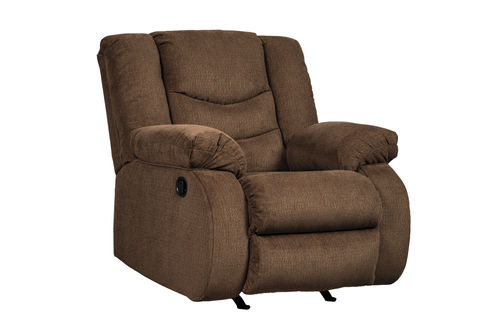 Signature Design by Ashley Tulen-Chocolate Rocker Recliner