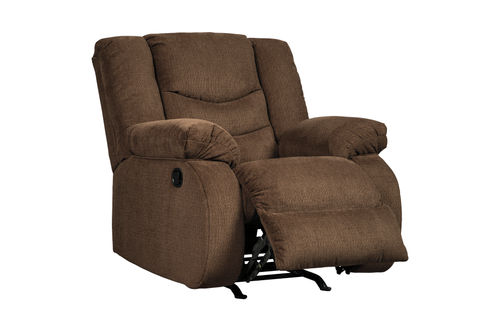 Signature Design by Ashley Tulen-Chocolate Rocker Recliner- Alternate View