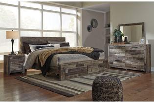 Benchcraft Derekson 6-Piece King Bedroom Set- Room View