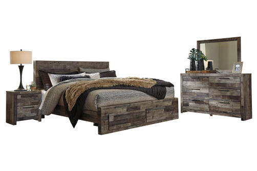 Benchcraft Derekson 6-Piece King Bedroom Set