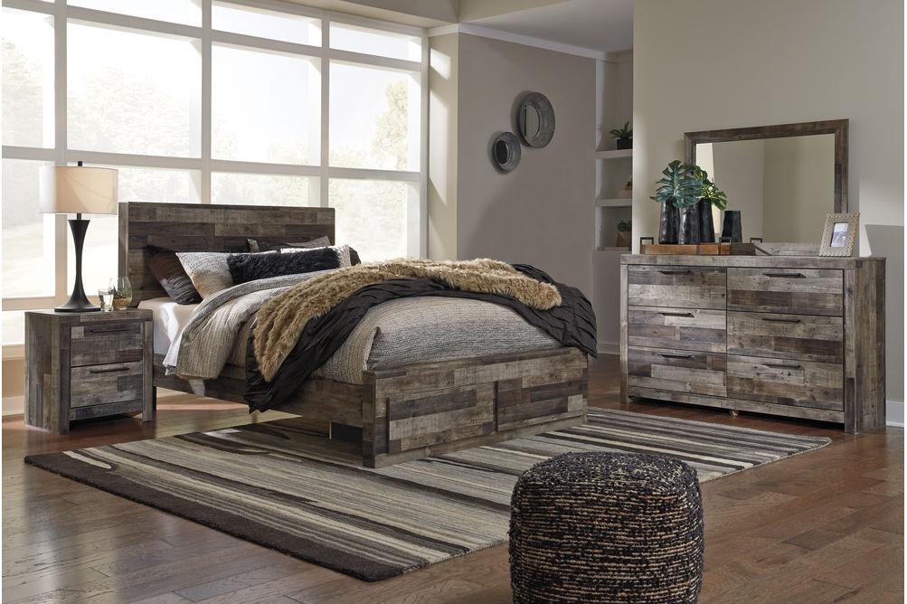 Benchcraft Derekson 6-Piece Queen Bedroom Set- Room View