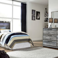 Signature Design by Ashley Baystorm 4-Piece Twin Bedroom Set- Room View