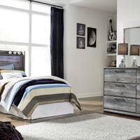 签名设计阿什利贝斯托姆4件双卧室设置房间视图