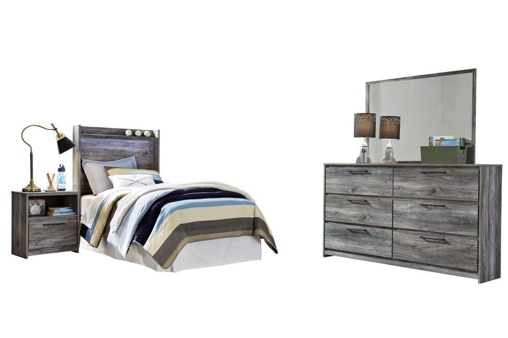 Signature Design by Ashley Baystorm 4-Piece Twin Bedroom Set