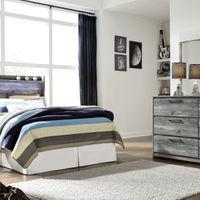 签名设计阿什利贝斯托姆4件全卧室设置房间视图