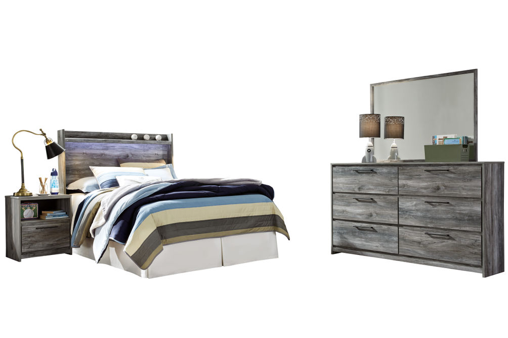 Signature Design by Ashley Baystorm 4-Piece Full Bedroom Set