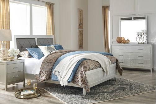 Signature Design by Ashley Olivet 6-Piece King Bedroom Set- Room View