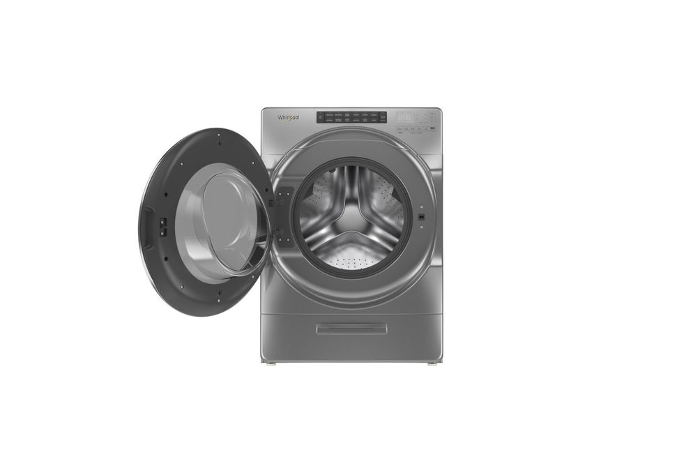 Whirlpool Chrome 4.5 Cu. Ft. Front Load Washer - Interior Washer View