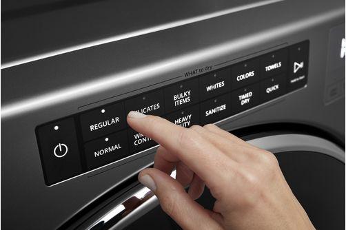 Whirlpool Chrome 7.4 Cu. Ft. Gas Dryer - Dryer Controls
