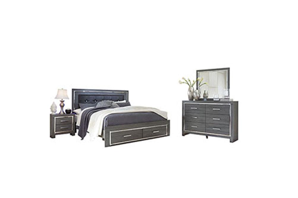Signature Design by Ashley Lodanna 6-Piece King Bedroom Set