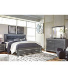 Signature Design by Ashley Lodanna 6-Piece King Bedroom Set- Room View