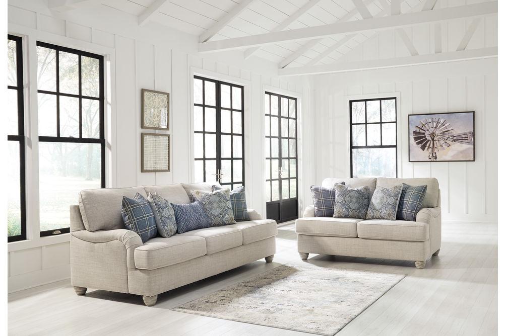Benchcraft Traemore-Linen Sofa and Loveseat - Alternate Image