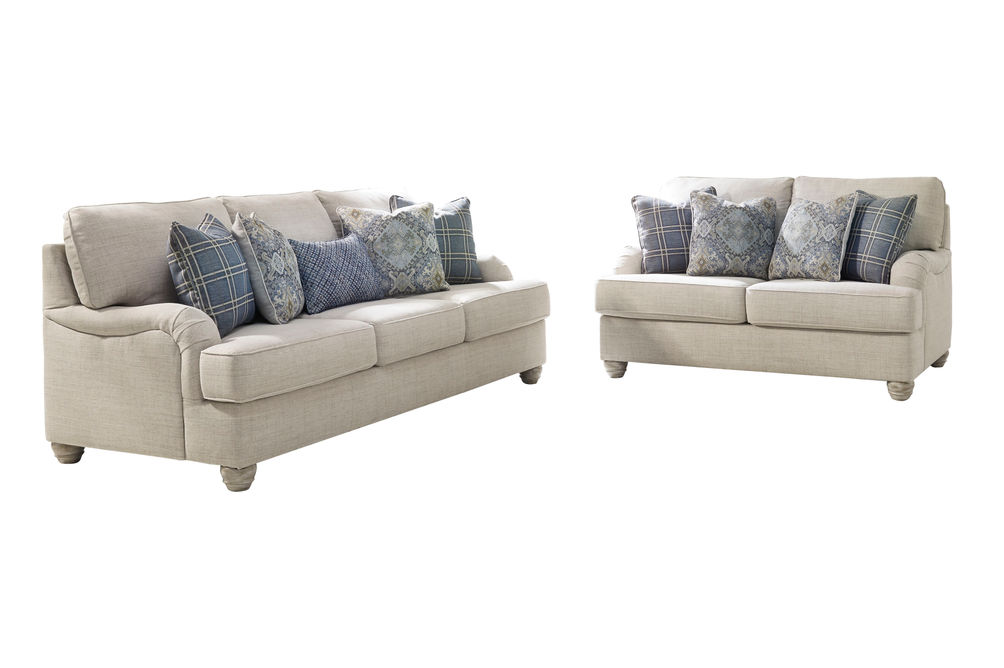 Benchcraft Traemore-Linen Sofa and Loveseat