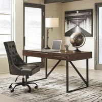 Signature Design by Ashley Starmore Home Office Lift Top Desk- Room View