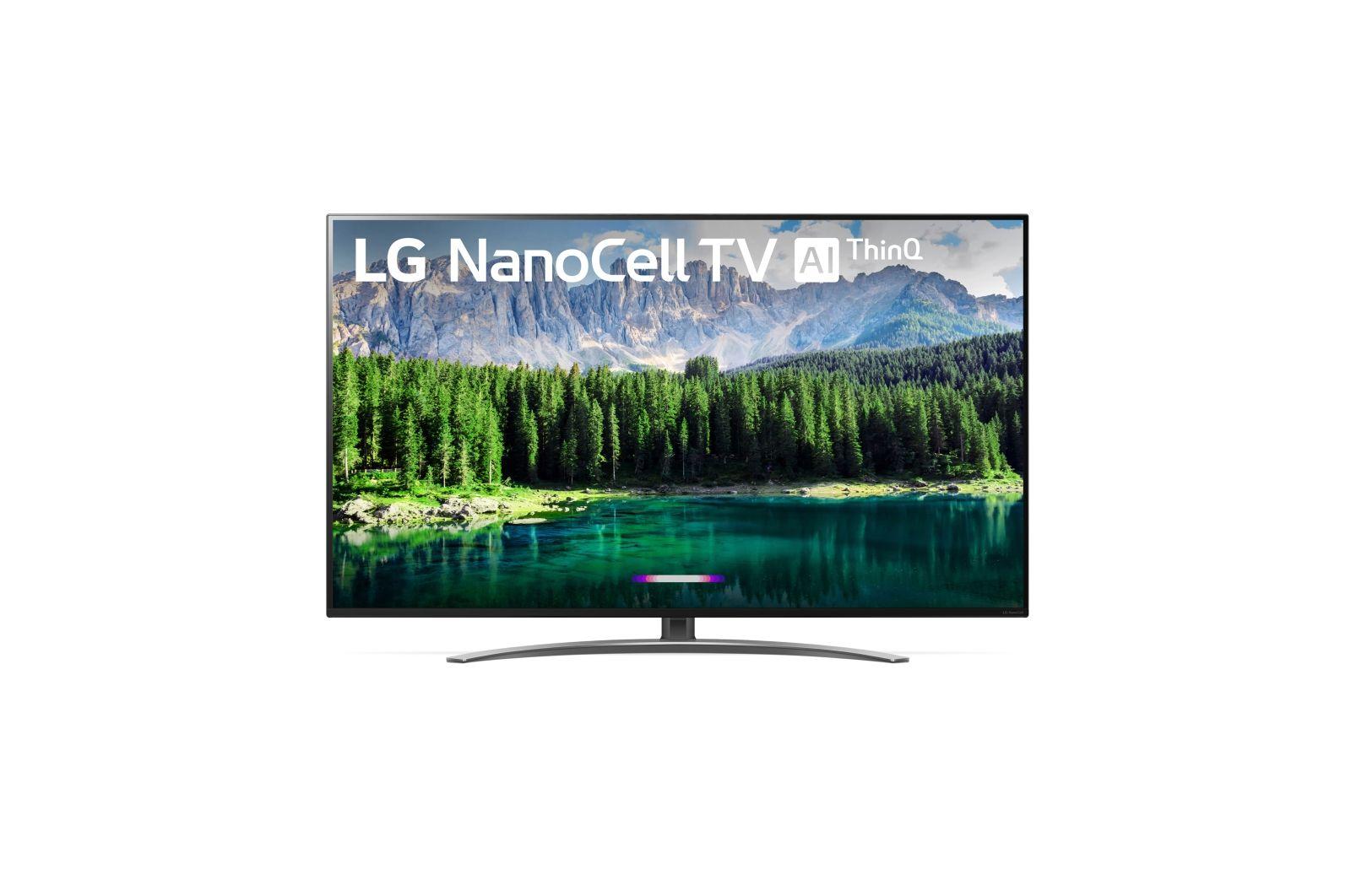 LG 55 Inch Nano 8 Series 4K UHD LED Smart TV55SM8600PUA