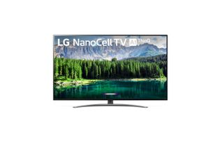 LG 55 Inch Nano 8 Series 4K UHD LED Smart TV 55SM8600PUA