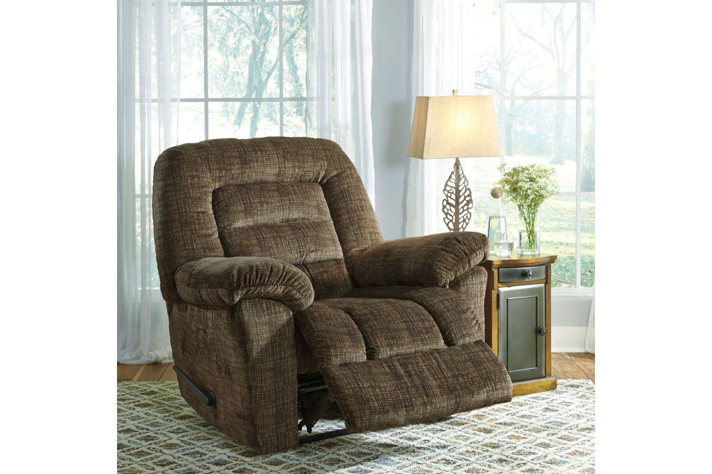 Signature Design by Ashley Hengen-Mocha Zero Wall Recliner-Alternate Image