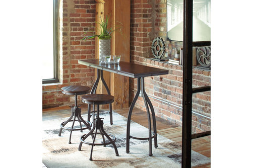 Signature Design by Ashley Odium 3-Piece Dining Set- Room View