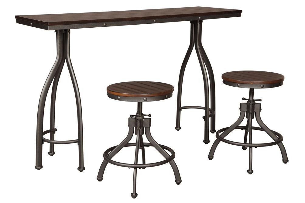 Signature Design by Ashley Odium 3-Piece Dining Set