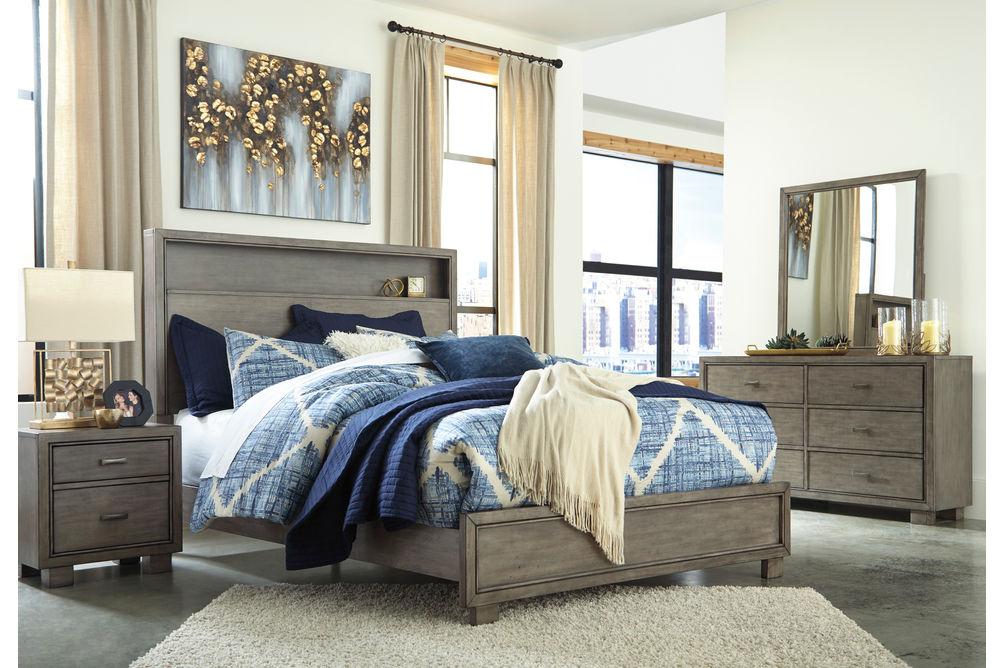 Signature Design by Ashley Arnett 6-Piece Queen Bedroom Set- Room View
