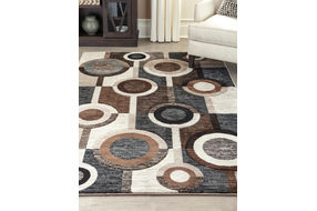 Signature Design by Ashley Guintte Indoor Accent Rug - Sample Room View
