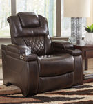 Signature Design by Ashley Warnerton-Chocolate Power Reclining Recliner Room View