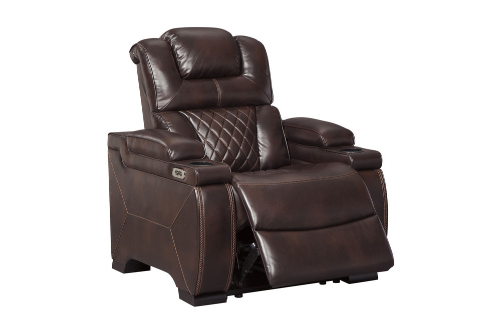 Signature Design by Ashley Warnerton-Chocolate Power Reclining Recliner