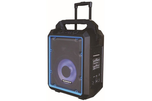Hummer 1200W Portable Bluetooth Speaker- Side View