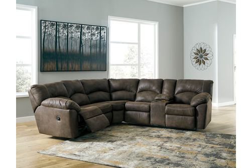 Ashley Tambo-Canyon 2-Piece Sectional- Room View